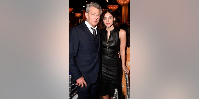 David Foster and Katharine McPhee attend Friends of The Israel Defense Forces (FIDF) Western Region Gala at the Beverly Hilton Hotel on November 1, 2018 in Beverly Hills, California.