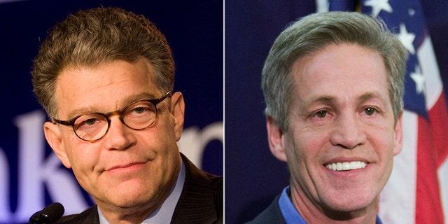 Former Sen. Al Franken and Sen. Norm Coleman faced off in the 2008 Senate election in Minnesota.