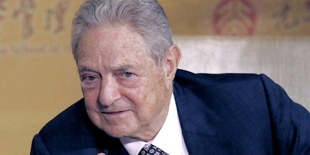 George Soros, the Democratic billionaire philanthropist, is a frequent target of conservative critics.