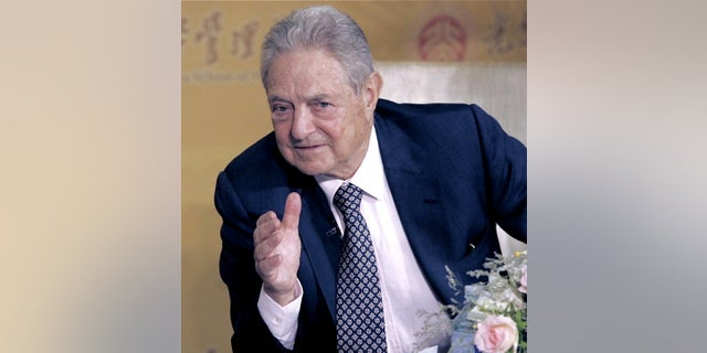 George Soros, the Democratic billionaire philanthropist, is a frequent target of conservative critics.