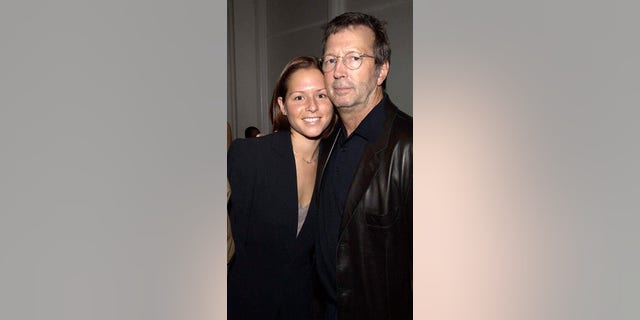 Eric Clapton And wife Melia McEnnery.