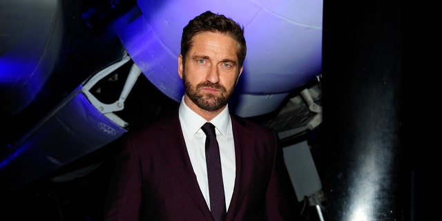 Gerard Butler shared an image of his home devastated by the California wildfire.