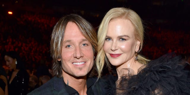 Keith Urban and Nicole Kidman attend the 52nd annual CMA Awards