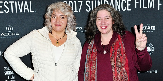 Jerry Garcia's daughters Trixie Garcia and Annabelle Garcia.