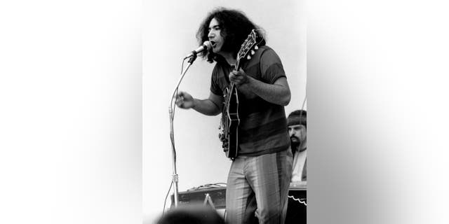 Jerry Garcia circa 1960.
