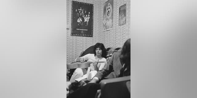 Freddie Mercury in 1969.