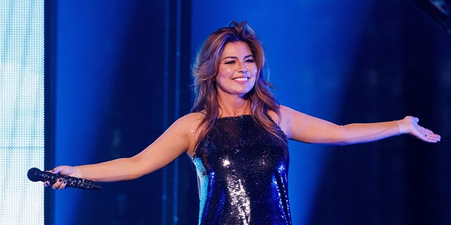 Shania Twain said she's eager to connect with fans later this year.