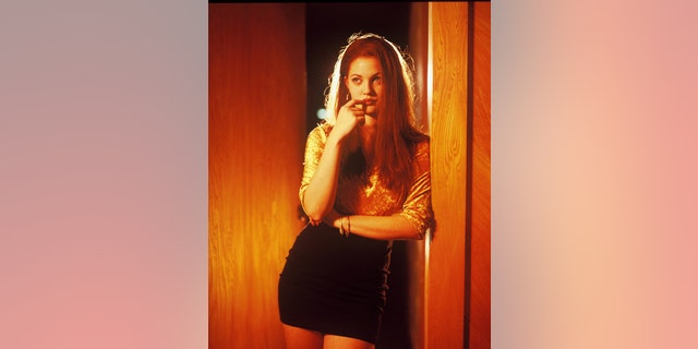 Drew Barrymore as Amy Fisher. Getty