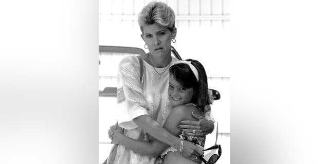 Mary Jo Buttafuoco with her daughter.