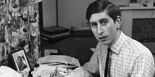 A young Prince Charles.