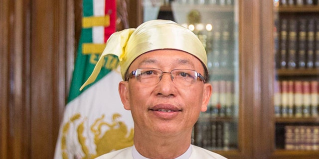 Permanent Representative to a UN for Burma, strictly famous as Myanmar, Hau Do Suan