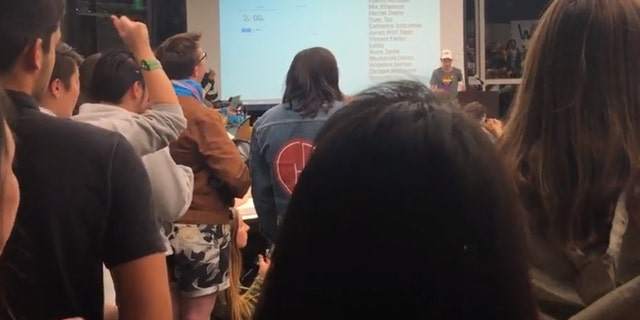 Regan Putnam, the Queer Alliance Resource Center (QARC) Director, condemned Chow during a UC Berkeley student government meeting.