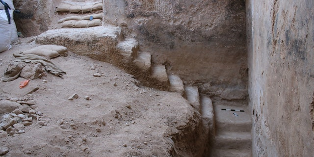 The water cistern was excavated in the Israeli city of Beer-Sheva. (Credit: Davida Eisenberg-Degen, Israel Antiquities Authority)