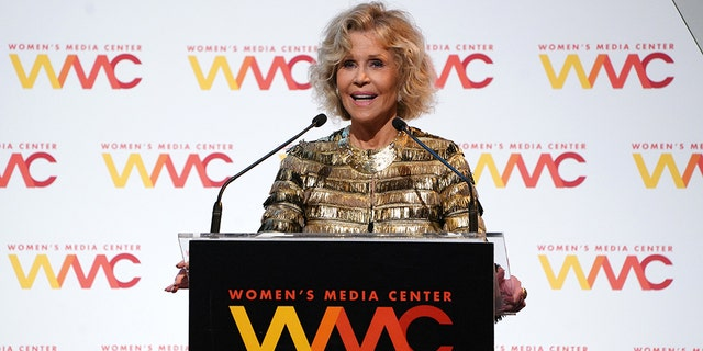 """Attacking the media is the first step in the move towards fascism,"" Fonda reportedly said."