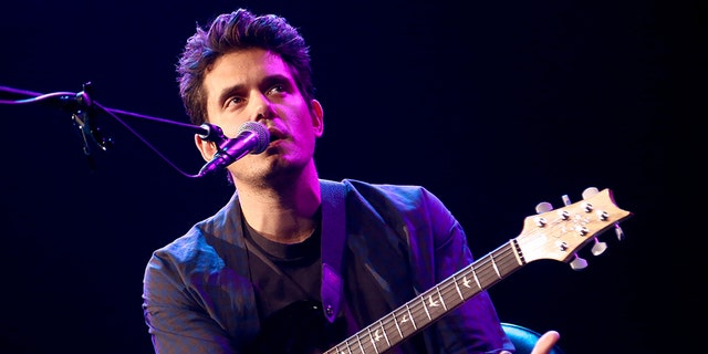 John Mayer performs onstage during iHeartRadio LIVE at iHeartRadio Theater on October 24, 2018 in Burbank, Calif.