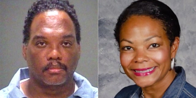 Lance Mason, 51, was arrested after he stabbing his estranged wife to death, according to police. Aisha Fraser, 44, was killed in her home in Shaker Heights, just outside of Cleveland.