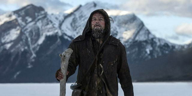 "Leonardo DiCaprio in ""The Revenant."""