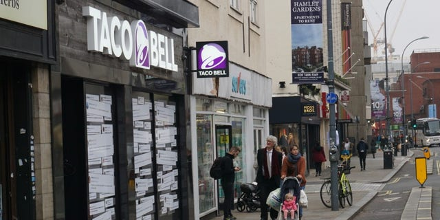 The first London Taco Bell opens November 23.