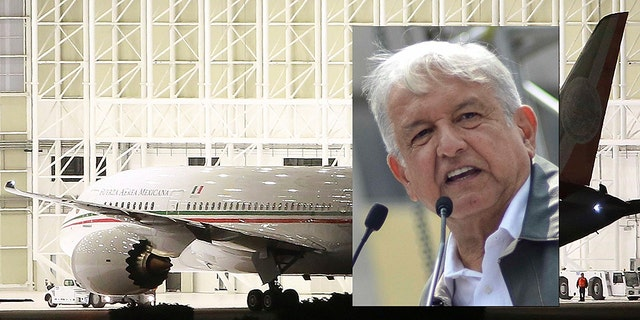 """""""It's not just an efficient, modern plane — it's a comfy plane, with a bedroom, a restaurant, with lots of space,"""" incoming President Andrés Manuel López Obrador said of the presidential Boeing 787-8 Dreamliner he vows to never use."""