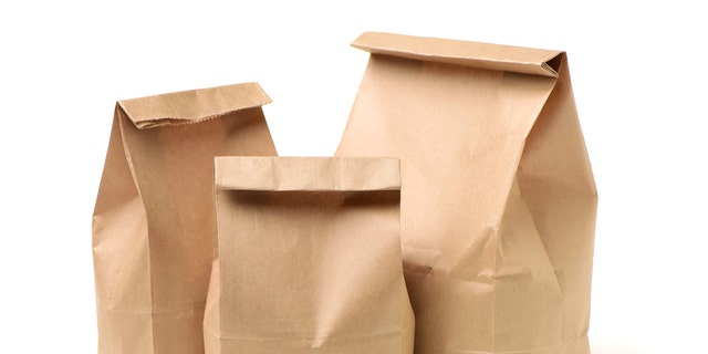 """A mom in California is ditching plain lunch bags in favor of ones printed with her silly, snarky messages.""""It's imperative to have humor with your kids,"""" she said of the bags, which she's now offering for sale."""