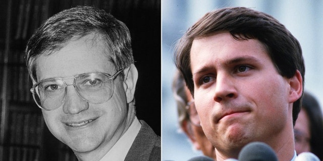 In 1984, Democratic Candidate Frank McCloskey ran against state Rep. Rick McIntyre, a Republican.