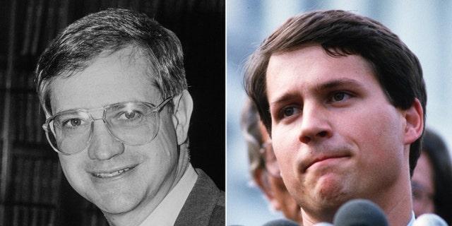 In 1984, Democratic Candidate Frank McCloskey ran against state Rep. Rick McIntyre, a Republican.