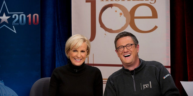 "MSNBC's ""Morning Joe"" were early supporters of then-candidate Trump before the relationship went south. (Photo by Virginia Sherwood/NBC/NBCU Photo Bank via Getty Images)"