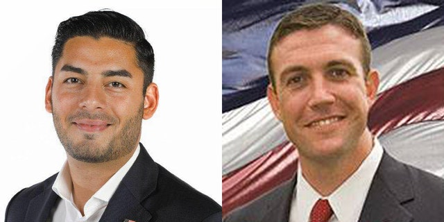 The race between Rep. Duncan Hunter (right) and Ammar Campa-Najjar (left) is ranked as leaning Republican.