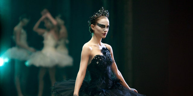 "Natalie Portman in the ""Black Swan."""
