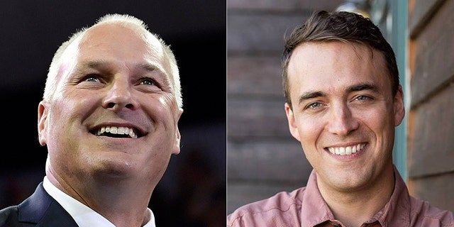 The race between Pete Stauber (left) and Joe Radinovich (right) is ranked as leaning Republican.