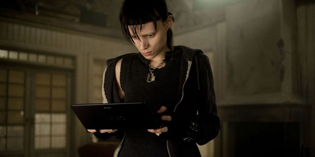 "Rooney Mara in ""The Girl with the Dragon Tattoo."""