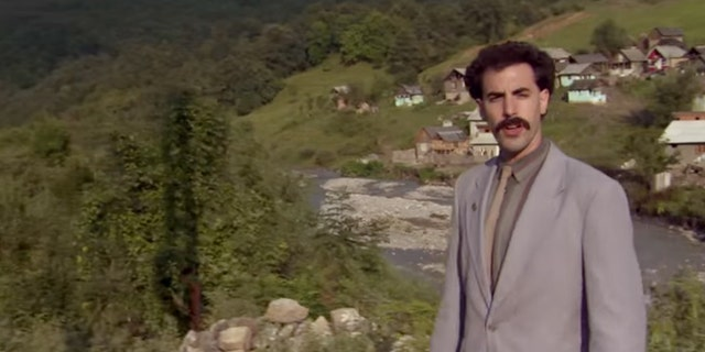 Sacha Baron Cohen as Borat in 'Borat: Cultural Learnings of America for Make Benefit Glorious Nation of Kazakhstan.'