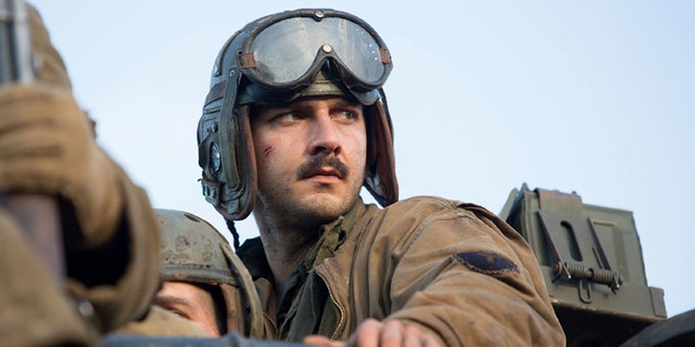 "Shia LaBeouf in ""Fury."""