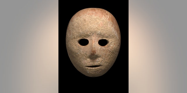 The ancient mask.
