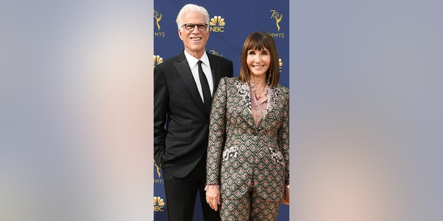 The couple at the 70th Emmy Awards at Microsoft Theater on September 17, 2018 in Los Angeles, California. (Photo by Steve Granitz/WireImage.)