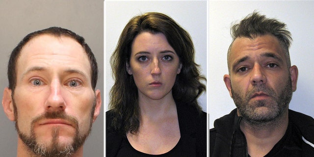 The trio were charged with theft by deception and conspiracy to commit theft by deception, according to a statement of probable cause from the prosecutor's office.