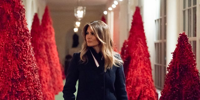 Trumps Light National Christmas Tree South of White House