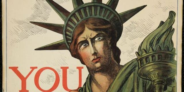 A World War I promoting Liberty Bonds that were sold to support the U.S. war effort. (National WWI Museum and Memorial)