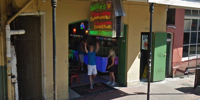 Employees at Willie's Chicken Shack, located in New Orleans' French Quarter, say Poseyhad gotten into an argument with staff prior to making the alleged threats.