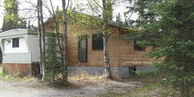The home where the Wagners lived in Kenai, Alaska.