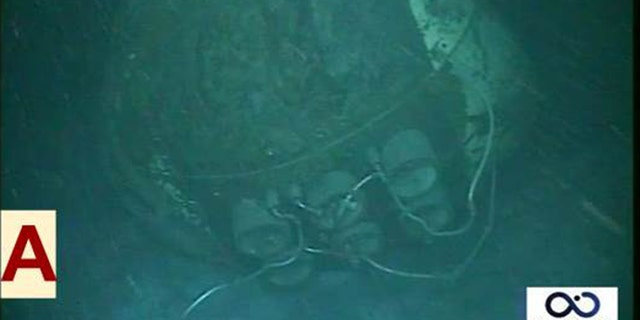 The ARA San Juan's propellers were buried and debris was scattered up to 230 feet away on the sea floor.