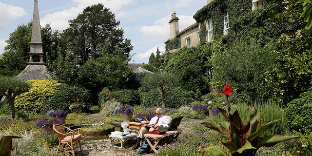 Images are part of a set to mark His Royal Highness's 70th birthday. Prince Charles, Prince of Wales works in the Gardens of Highgrove House on July 19, 2018 in Tetbury, United Kingdom. (Chris Jackson/Getty Images for Clarence House)