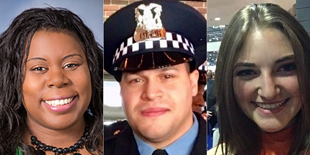 Dr. Tamara O'Neal, Chicago Officer Samuel Jimenez, and Pharmacy Resident Dayna Less were killed in the shooting.