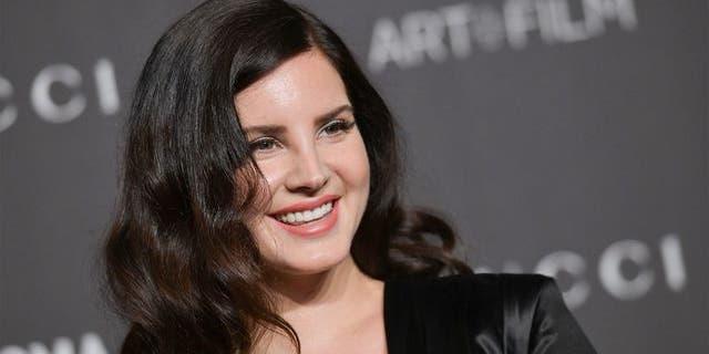 Grammy-nominated singer-songwriter Lana Del Rey.