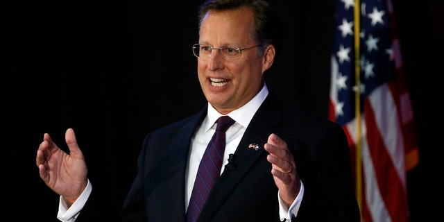Incumbent Rep. Dave Brat was defeated by Democratic challenger Abigail Spanberger Tuesday night. (AP Photo/Steve Helber)