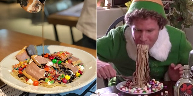 """A Chicago eatery is hoping you'll start the holiday season with this Spaghetti Sunday inspired by the movie """"Elf."""""""