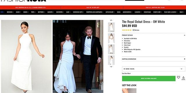 Royal fashion on a budget.