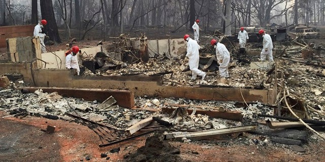 At least 71 people died in the Camp Fire.