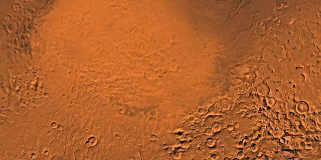 File photo: The Hellas Planitia region of Mars, where scientists believe small lakes came and went regularly.