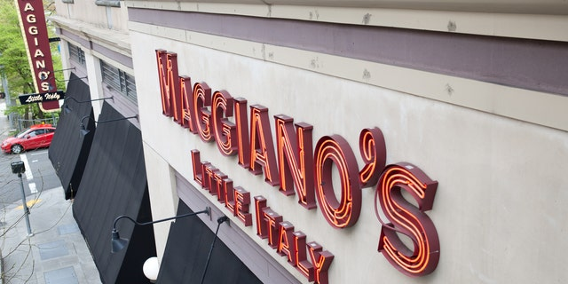 A man is blaming Maggiano's for his facial and head injuries.